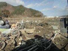 震災直後の大槌町