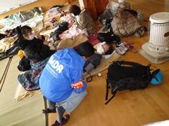 震災直後の釜石市