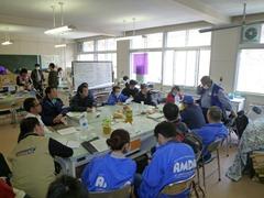 AMDA国際奨学金についての会議